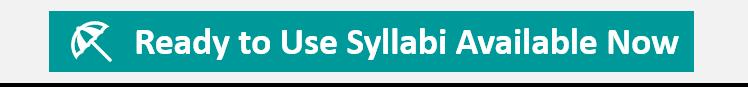 Sample Syllabi now available