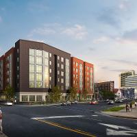 Rendering of North West of AC Phase II