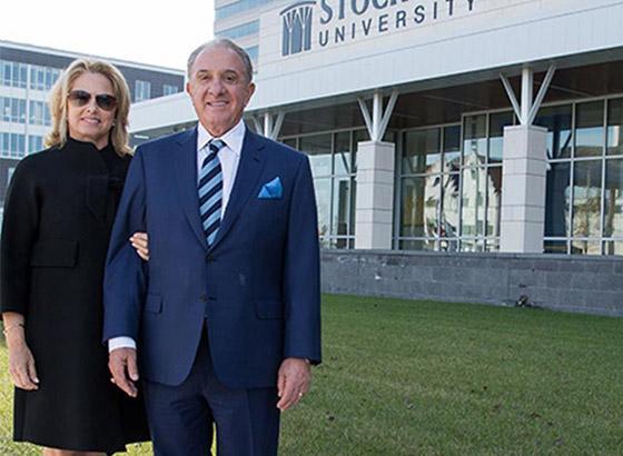 Scarpa Donates $8 Million