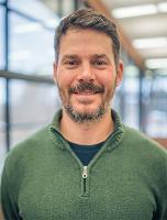 Matthew Olson, assistant professor of Environmental Science (Photo: Adam Redding)