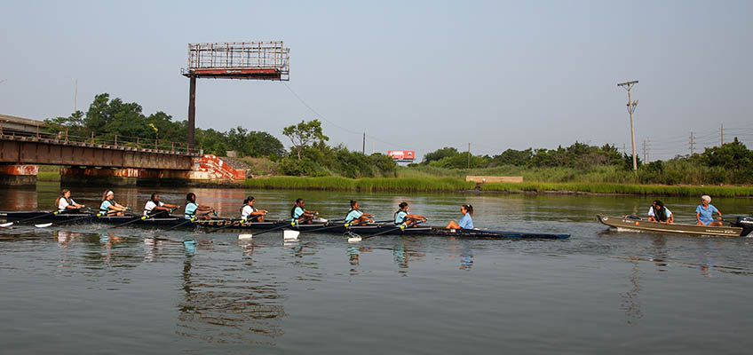 Summer Youth Rowing Program