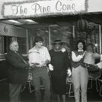The opening of the Pine Cone Ice Cream Parlor in 1984