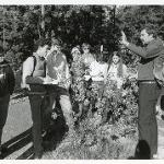 Nature Walk with Rudy Arndt in 1987