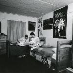 Dorm room in the 80s