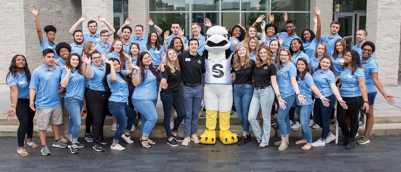 Meet your first new friends at Stockton!