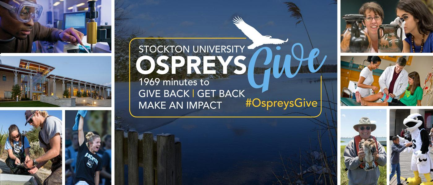 Learn how you can give back, get back and make an impact today!