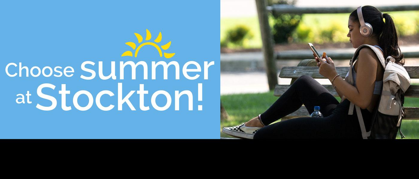 Register now for summer classes at Stockton