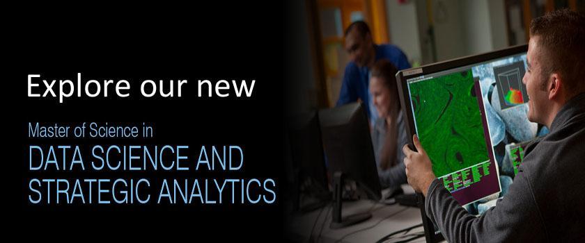M.S. in Data Science & Strategic Analytics