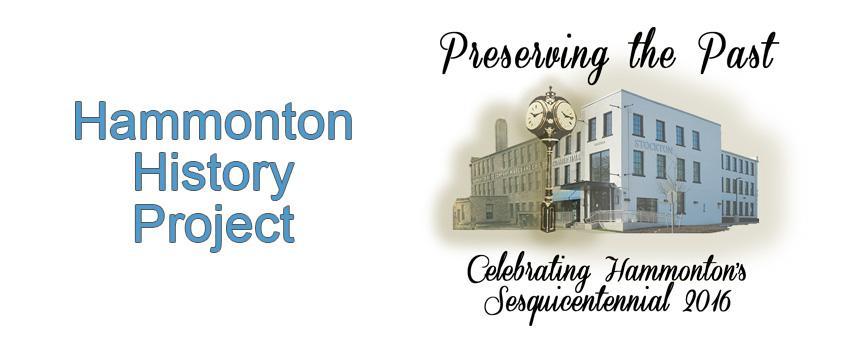 Hammonton's Sesquicentennial