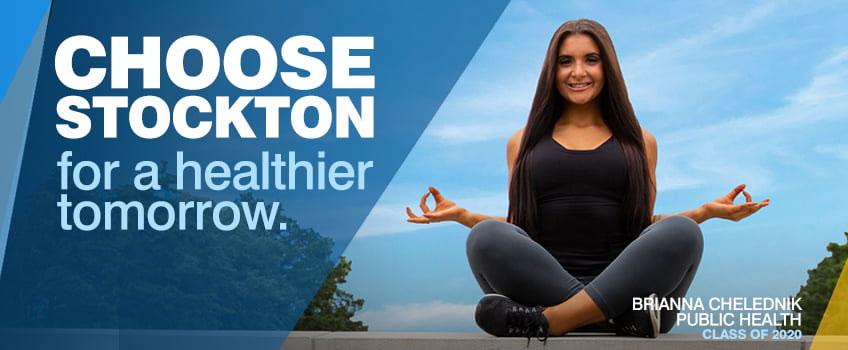 Choose Stockton for a healthier tomorrow