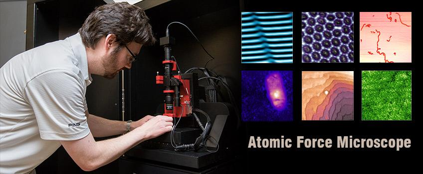 Stockton's New Atomic Force Microscope Will Allow Researchers to Resolve Atoms
