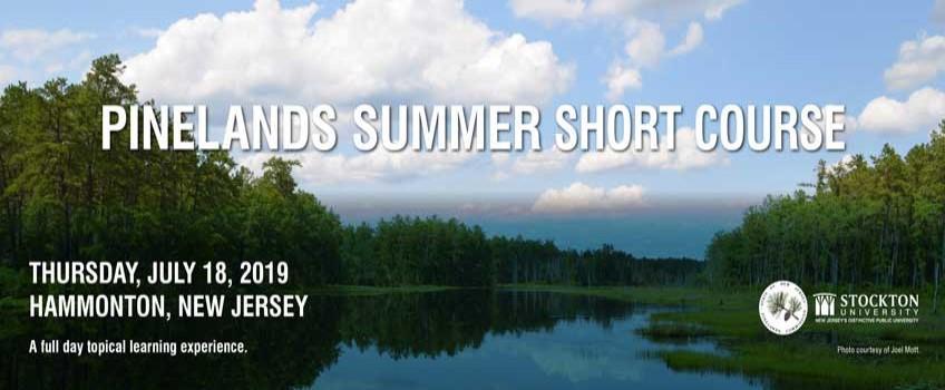 Pinelands Summer Short Course