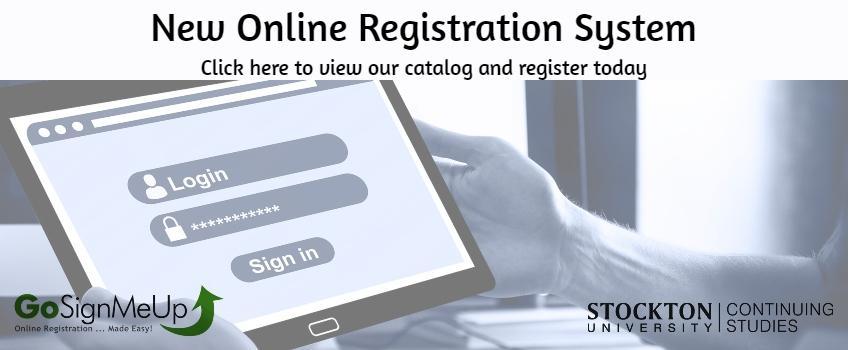 New Online Registration System