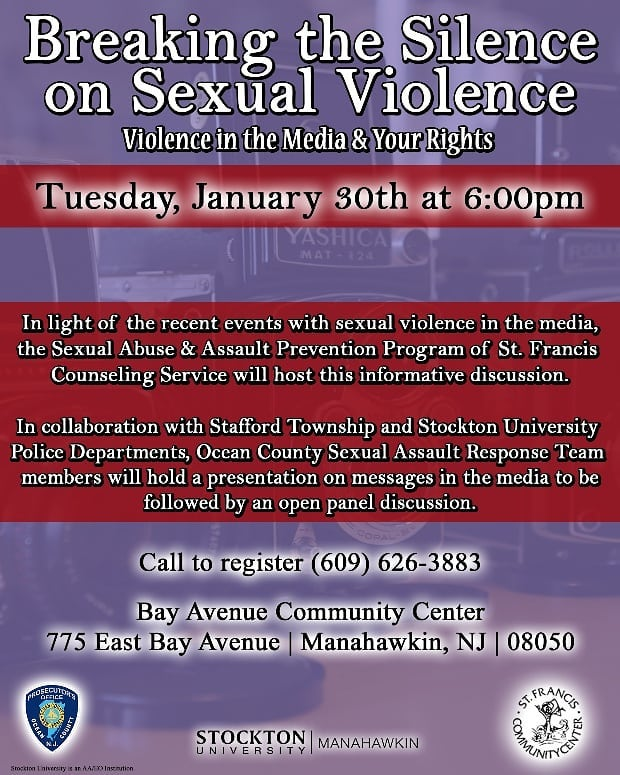 Ending the Silence on Sexual Violence Flyer