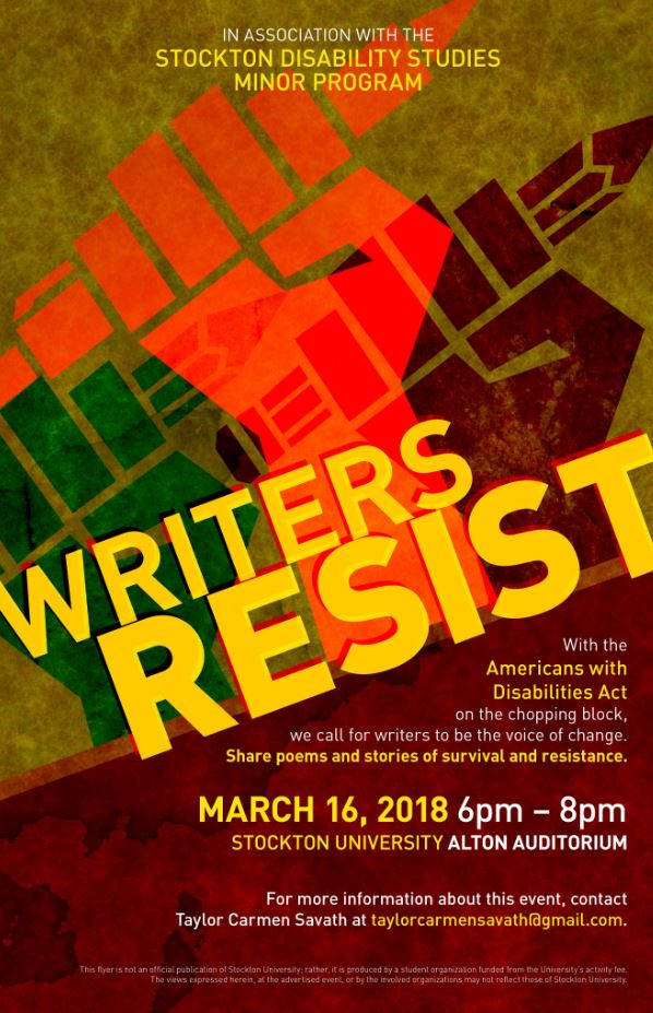 Writers Resist
