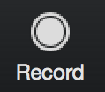 the record button in zoom