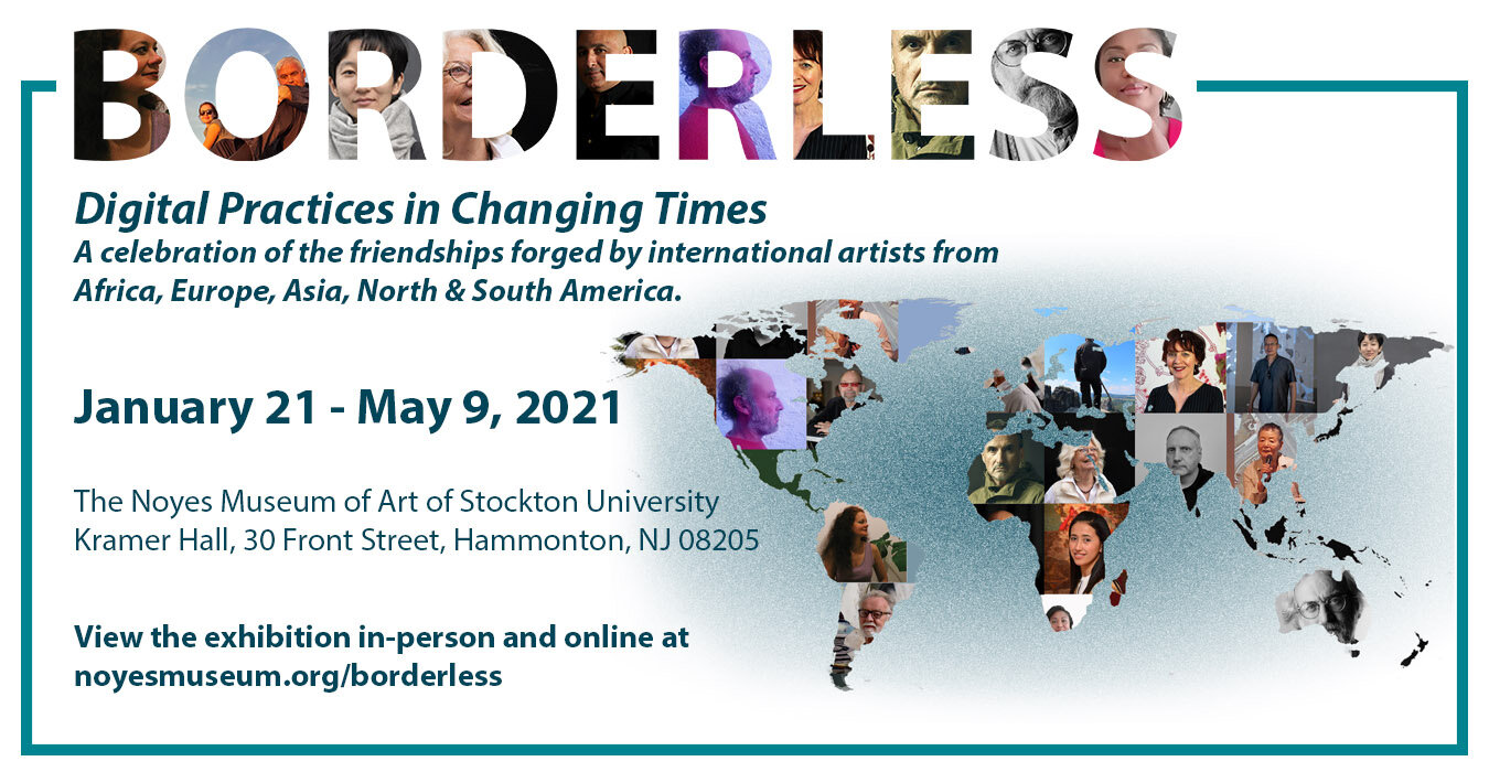 Borderless exhibition