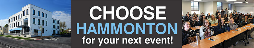 Choose Hammonton for your next event!