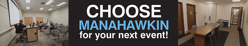 Choose Manahawkin for your next event!
