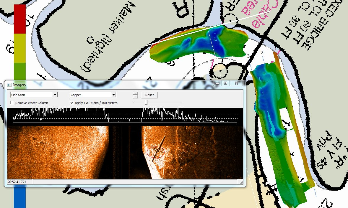 Images of Hydrographic Survey