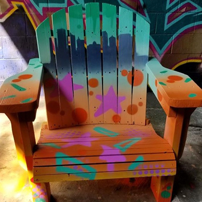 48 blocks chair