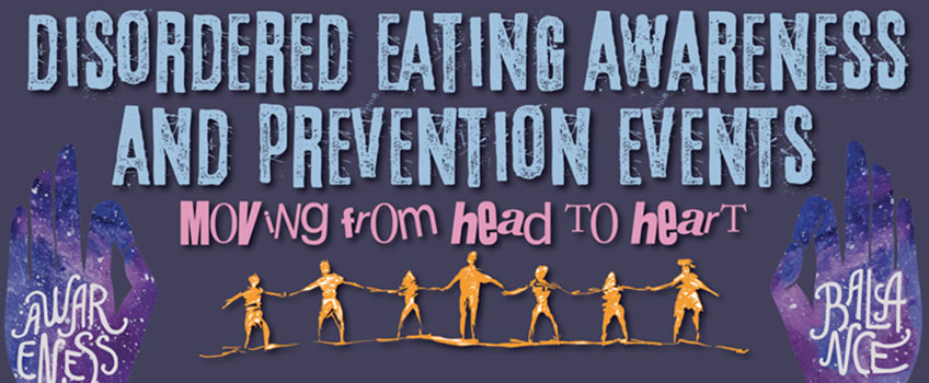 Disordered Eating Awareness and Prevention Month at Stockton University