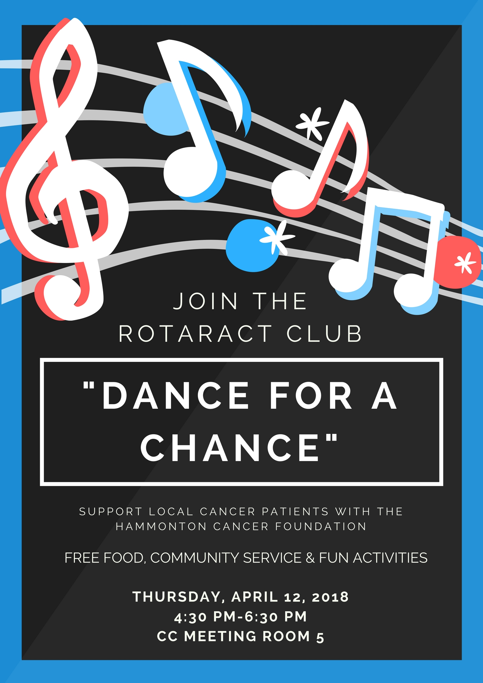 Rotaract Dance for a Chance