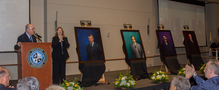 Presidential Portraits Unveiling