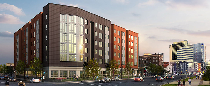 ac phase 2 residence hall rendering