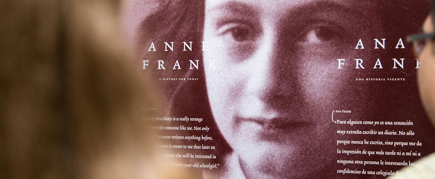 anne frank exhibit