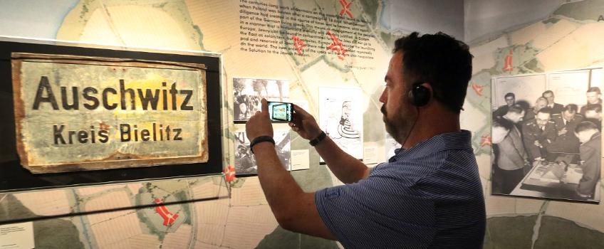 auschwitz exhibit trip