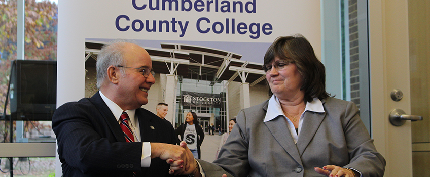 Cumberland County College Campus Map.Stockton And Cumberland County College Sign Transfer Agreement