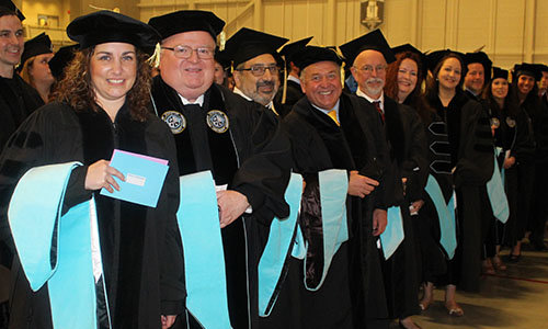doctor in leadership graduation