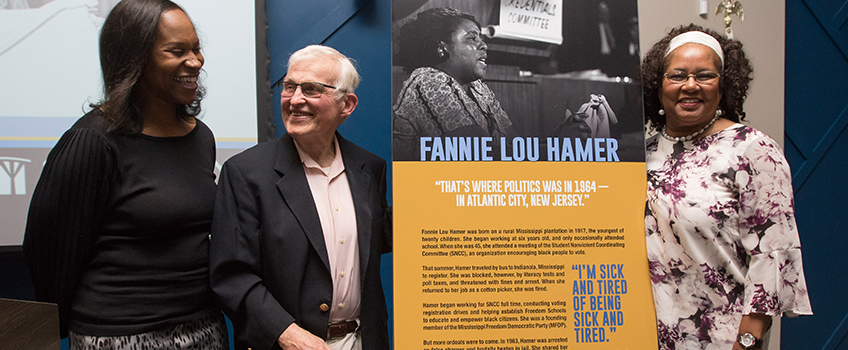 fannie lou hamer room dedication