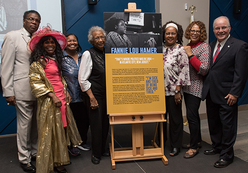 fannie lou hamer event room dedication