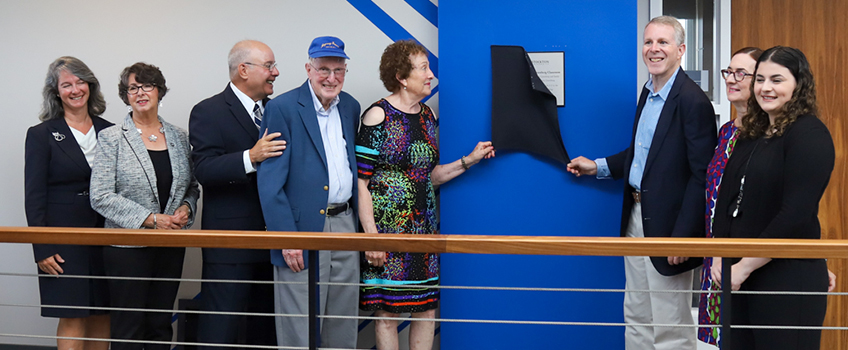 greenberg naming unveiling
