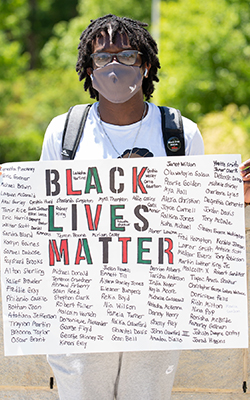 juneteenth sign black lives matter