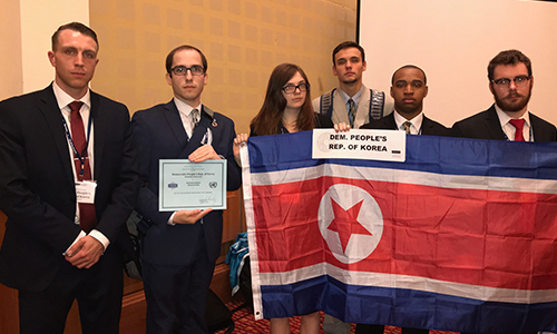 Model UN North Korea