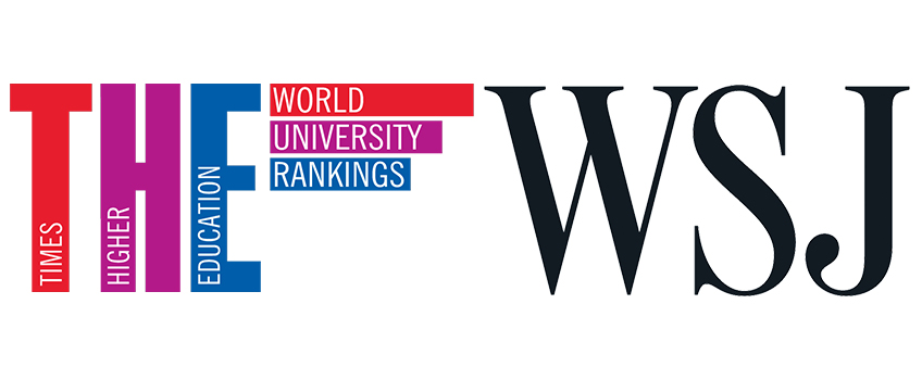 Wall Street Journal Times Higher Education Rating