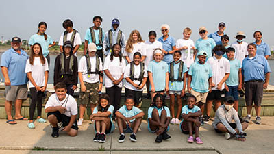 youth rowing group