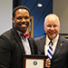 BOT July 2019 Deon Davis with President Kesselman