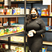 food pantry at TRLC