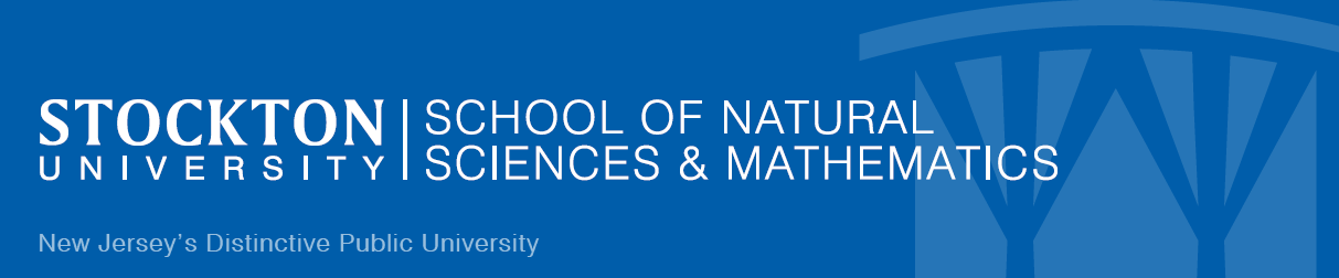 Stockton University School of Natural Sciences & Mathematics