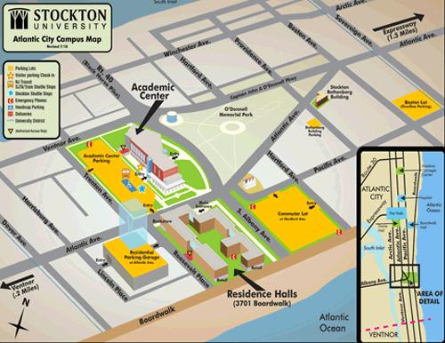 Stockton Campus Map | woestenhoeve