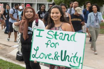 Unite Against Hate Rally 2017