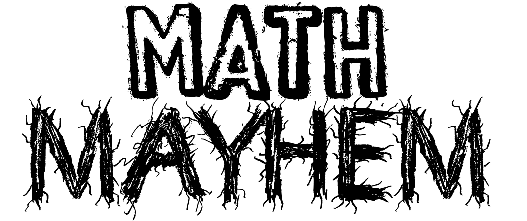 Image of math mayhem logo