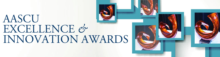 AASCU Excellence & Innovation Awards Logo