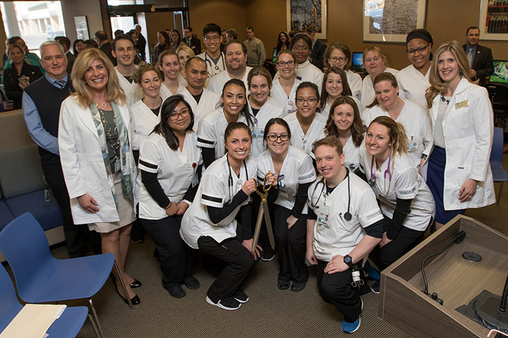 Nursing students at Manahawkin ceremony