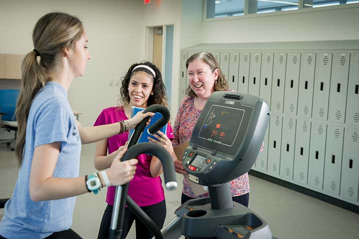 Exercise Science students and faculty
