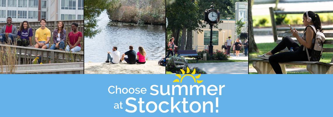 Summer Sessions Summer Stockton University